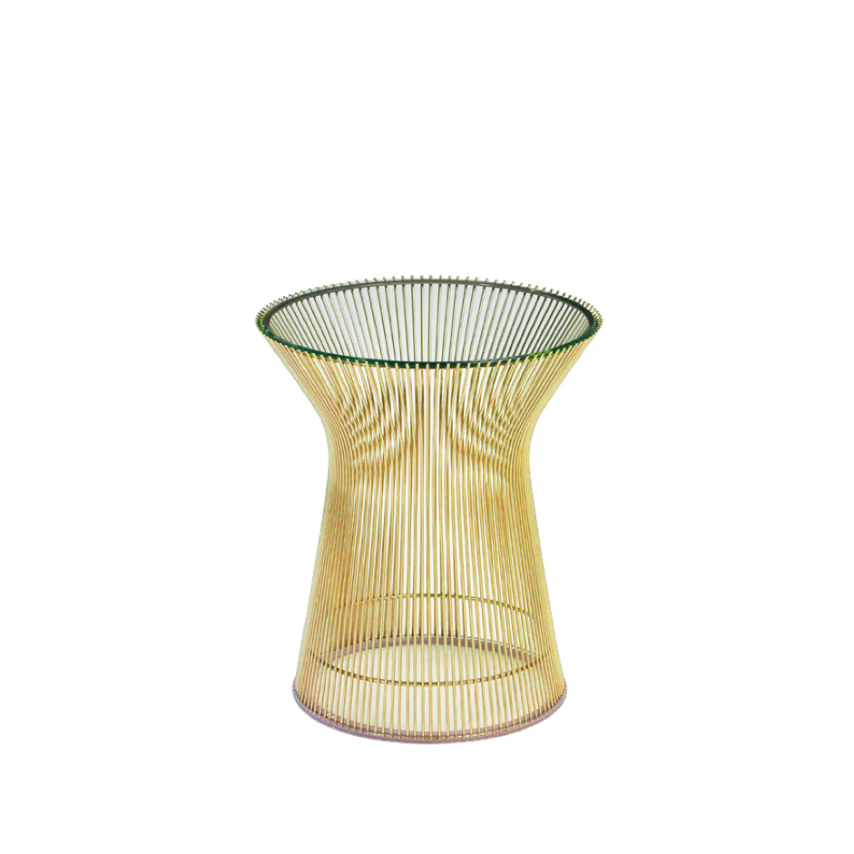 NW3 Interiors Platner Gold Side Table by Parker Knoll