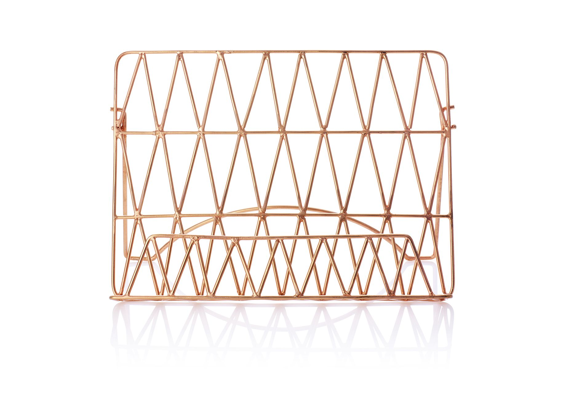 NW3 Interiors - Oliver Bonas Copper Wire Recipe Stand