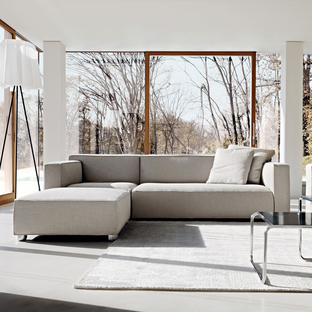 Asymmetric Sofa by Knoll