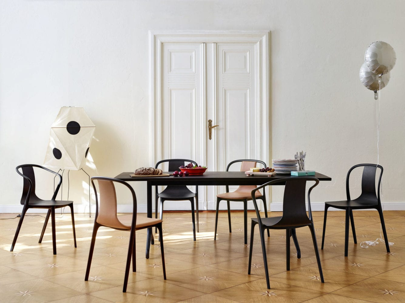 Vitra Dining Chairs and Table
