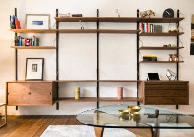 Camden Mews Project - Storage Solutions. NW3 Interiors is an interior design studio in North London. We work on projects of all sizes & budgets in Hampstead, Primrose Hill, Camden & Belsize Park.