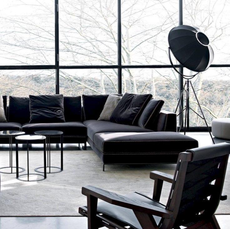 B&B Italia Sofa - interior decor brands from NW3 interiors