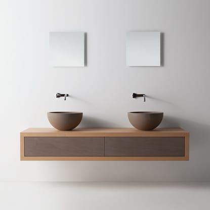 Neutra Bathroom - moody sink unit