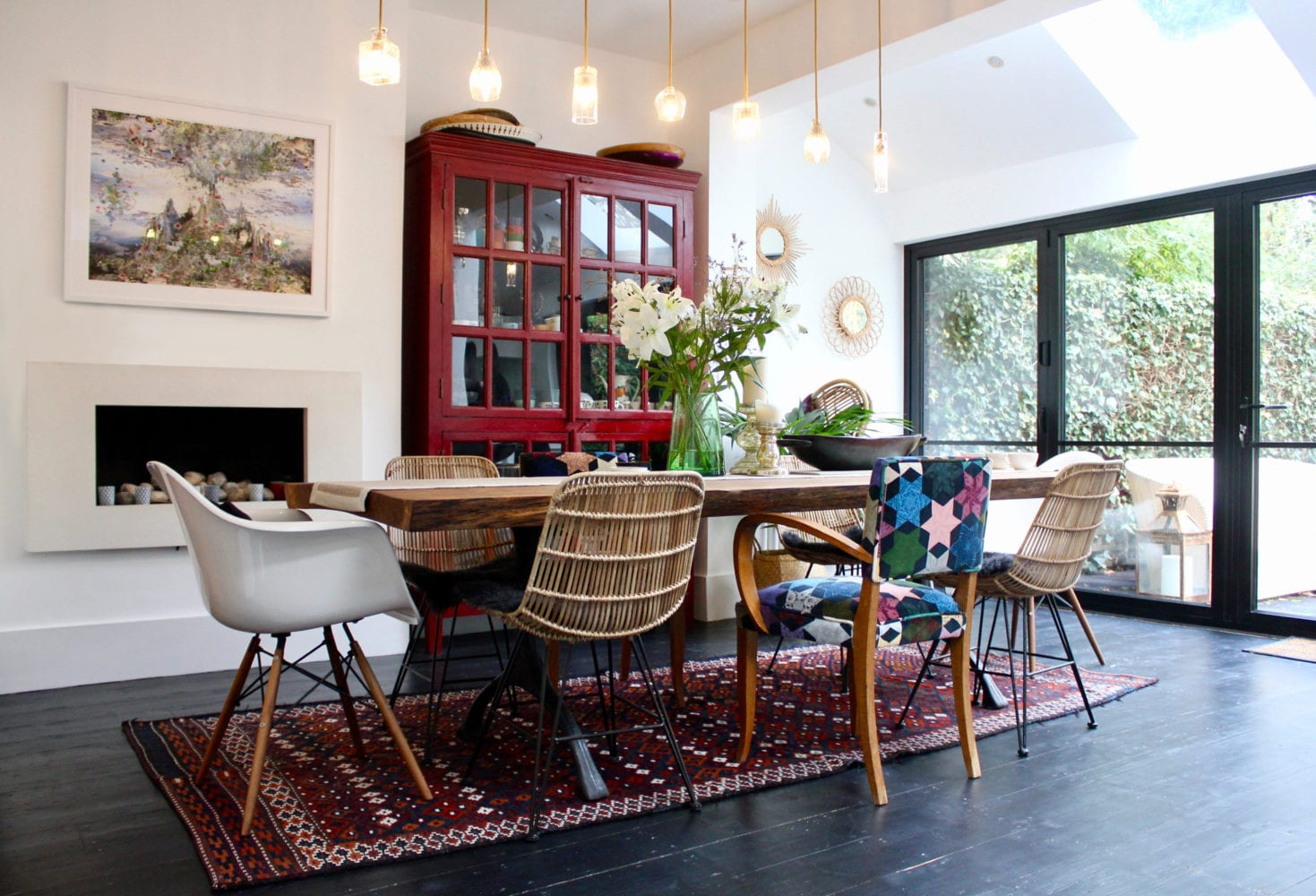 NW3 Interiors enhanced this period West Hampstead home, into a sophisticated and cool family space using an eclectic mix of furniture from the middle east. Click to read more on our interior design portfolio from NW3 Interiors and find out about our interior design services.