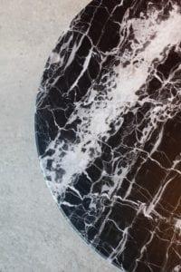 Knoll Black Marble