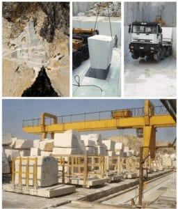 Knoll Marble Extraction Process