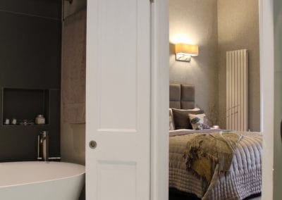 Belsize Park Double Doors - Bathroom Design