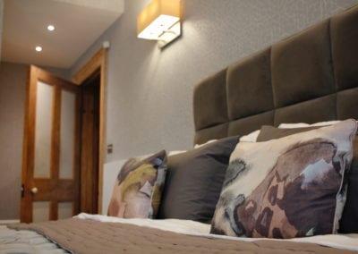 Belsize Park - Master Bed Detail
