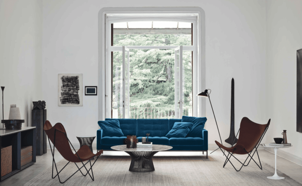 Knoll New Collection - Accent Colour Florence Knoll Sofa