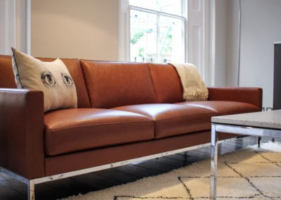 7 Berkeley Road Kids Lounge Project Florence Knoll Sofa