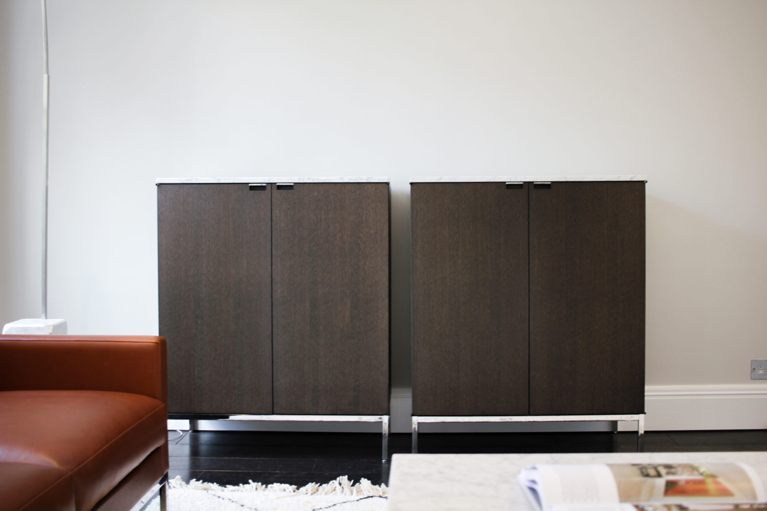 7 Berkeley Road Kids Lounge - Florence Knoll tall credenza