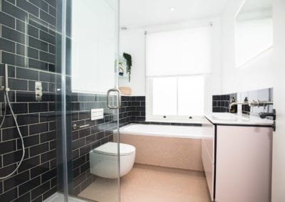 Edis Street - Primrose Hill House - Bathroom. Interior Designer in North London - Belsize Park, Hamstead, Primrose Hill and Camden