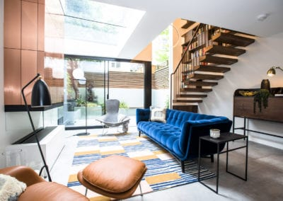 Edis Street - Primrose Hill House - Orangery. Interior Designer in North London - Belsize Park, Hamstead, Primrose Hill and Camden