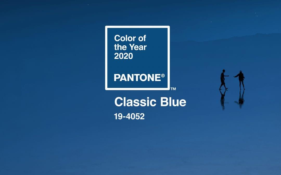 The Interior Powers Of 2020 Pantone Classic Blue