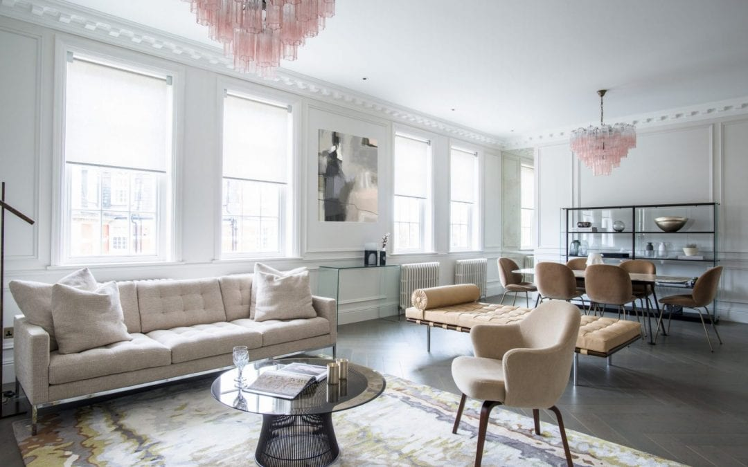North Gate Interiors Project - Living Area. Read more on our interior design styles and advice journal from the team at NW3 Interiors.