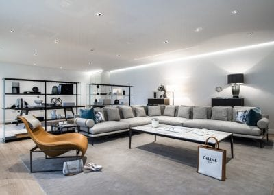 St Johns Wood Family Home - Lounge Design - BB Italia
