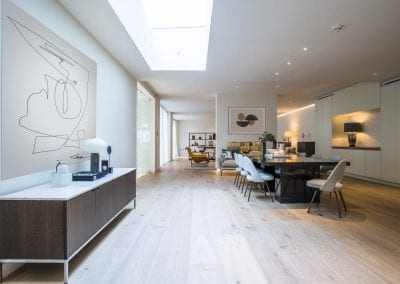 Kitchen - St Johns Wood Family Home. NW3 Interiors is an interior design studio in North London. We work on projects of all sizes & budgets in Hampstead, Primrose Hill, Camden & Belsize Park. Click to view our interior design portfolio.