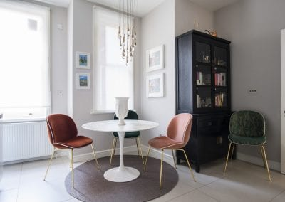 Finchley Apartment - Gubi Chairs