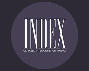 INDEX logo featuring NW3 Interiors, North London Interior Designers.