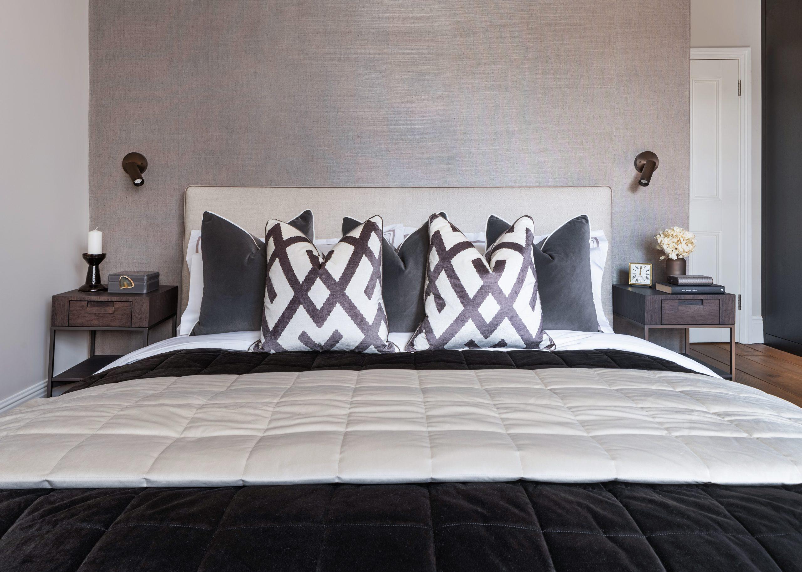 B & B Italia master bed