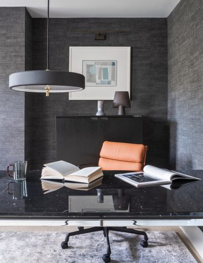 Home Study desk by Knoll