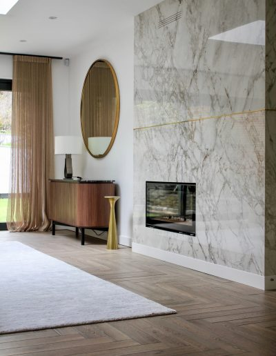 Living room designed by NW3 Interiors