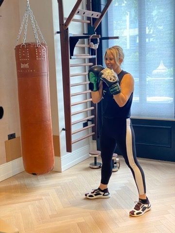 Carly Madhvani Boxing